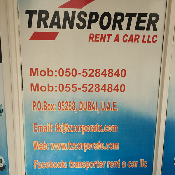 Transporter Rent a Car3